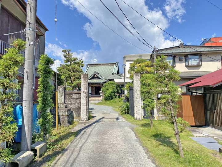大乗寺。小田原市栄町にある日蓮宗寺院