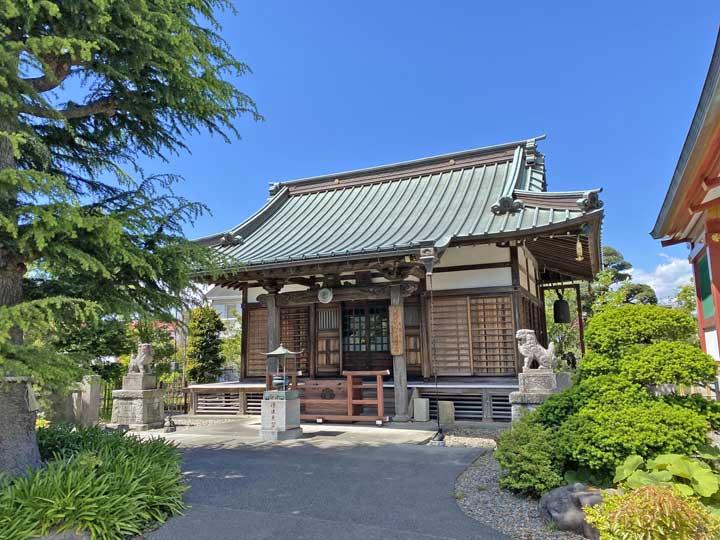 本源寺。小田原市栄町にある天台宗寺院