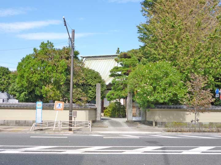光円寺。小田原市城山にある浄土真宗本願寺派寺院