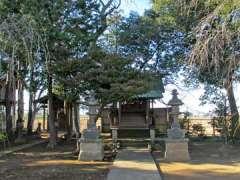 南古谷神社。川越市古市場の神社