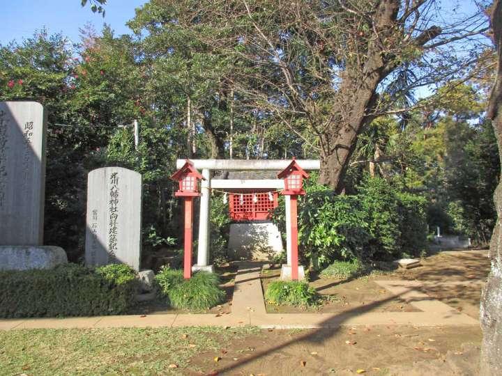 上新倉氷川八幡神社。和光市新倉の神社、旧村社