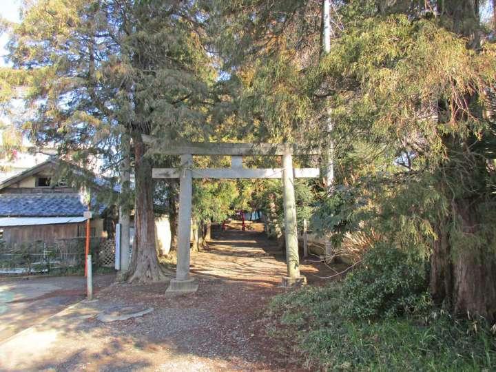 天沼神社。さいたま市大宮区天沼町の神社