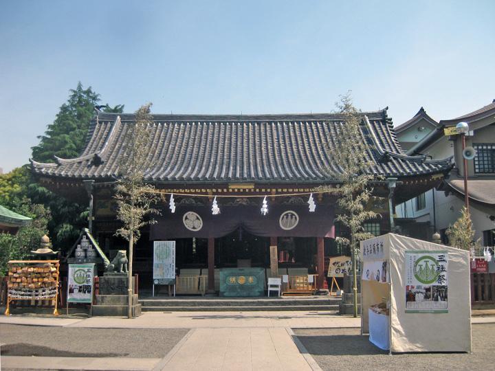 浅草神社|台東区浅草の神社、浅草七福神の恵比寿神
