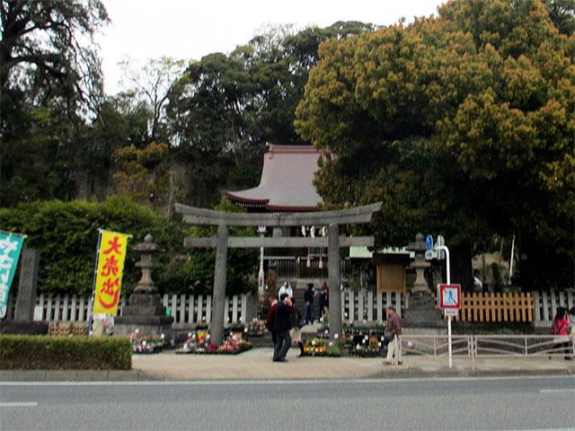瀬戸神社 横浜市金沢区瀬戸の神社