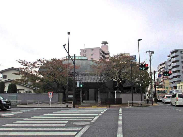 洪福寺。横浜市西区浅間町にある臨済宗建長寺派寺院